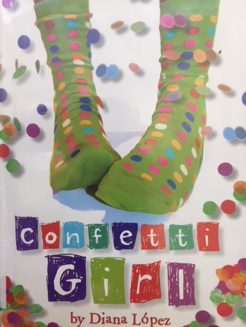 Confetti Girl book cover