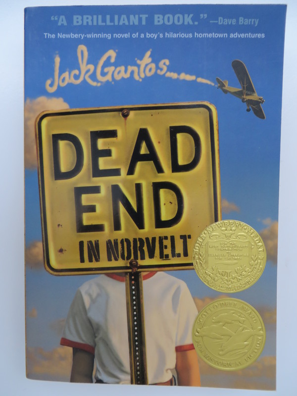 Dead End in Norvelt book cover