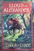 The Book of Three; Chronicles of Prydain book cover