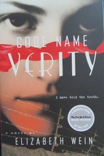 Code Name Verity book cover