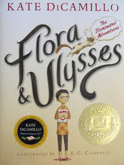 Flora & Ulysses book cover