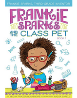 Frankie Sparks and the Class Pet book cover