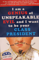 I Am a Genius of Unspeakable Evil and I Want to Be Your Class President book cover