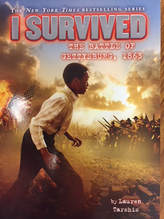 I Survived the Battle of Gettysburg book cover