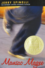Maniac Magee book cover