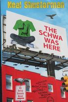 The Schwa Was Here book cover