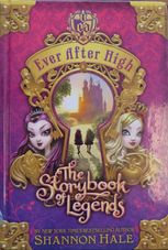 Ever After High: Storybook of Legends book cover