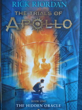 The Trials of Apollo: The Hidden Oracle book cover