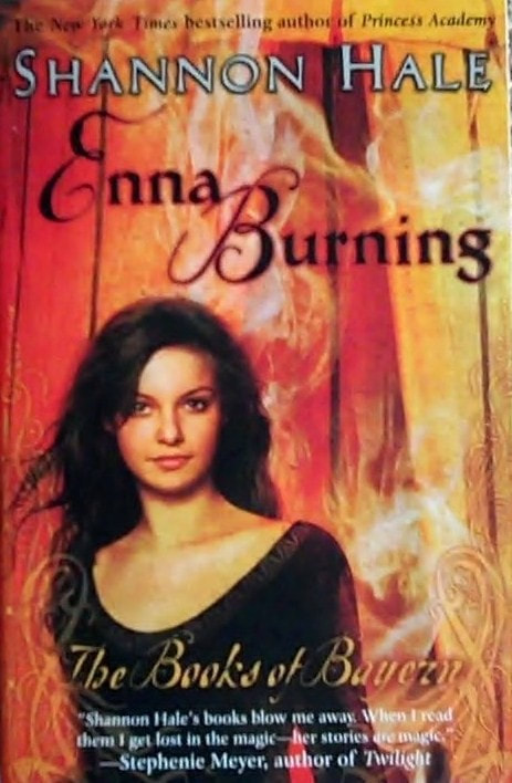 Enna Burning book cover