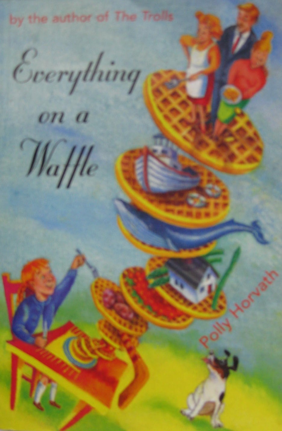 Everything on a Waffle book cover