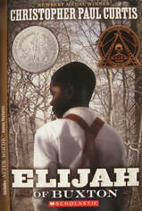 Elijah of Buxton book cover