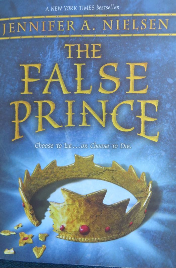 The False Prince - The Ascendance Trilogy book cover