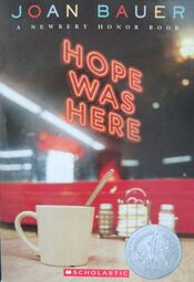 Hope Was Here book cover