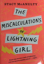 The Miscalculations of Lightning Girl book cover