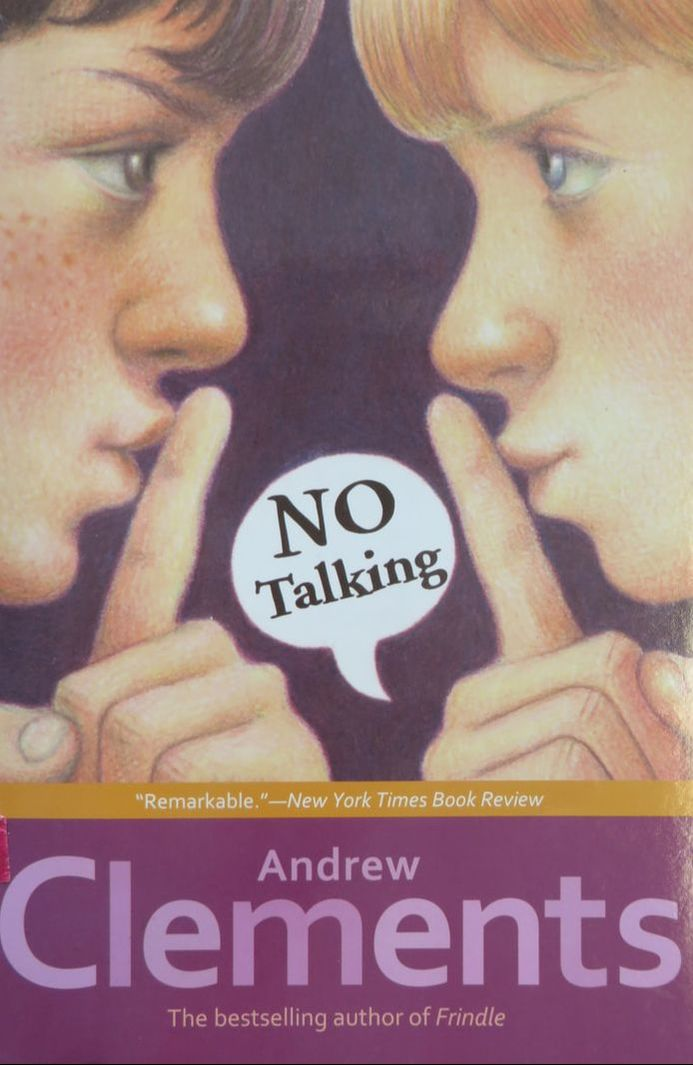 No Talking book cover