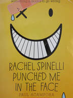 Rachel Spinelli Punched Me in the Face book cover