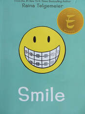 Smile (graphic novel) book cover
