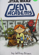 Star Wars: Jedi Academy book cover
