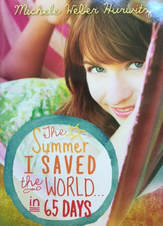 The Summer I Saved the World in 65 Days book cover