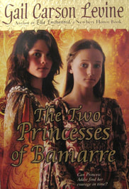 The Two Princesses of Bamarre book cover