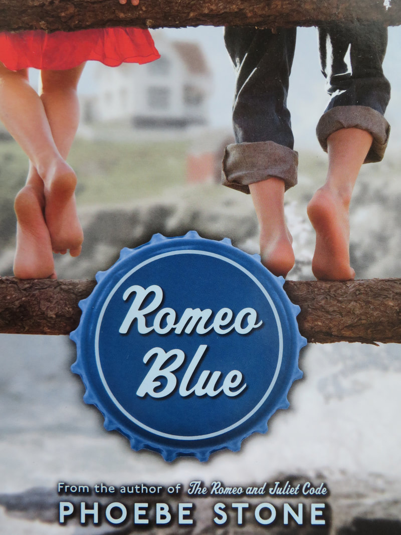 Romeo Blue book cover